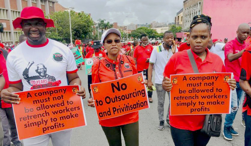 South Africa, worker rights, Solidarity Center