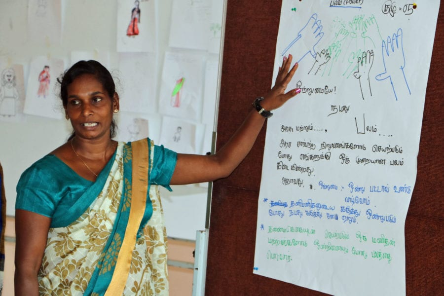 Sri Lanka, plantation workers, worker rights, unions, Solidarity Center