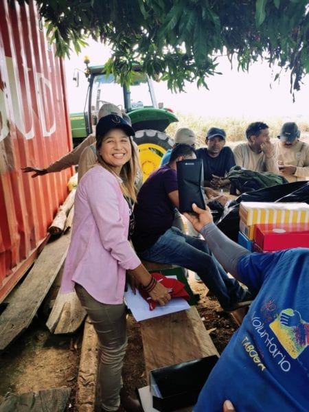 SINTRAICA, sugar cane union training, Solidarity Center, worker rights