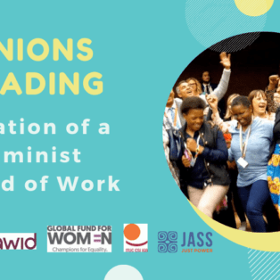 Unions Lead Creation of a Feminist World of Work
