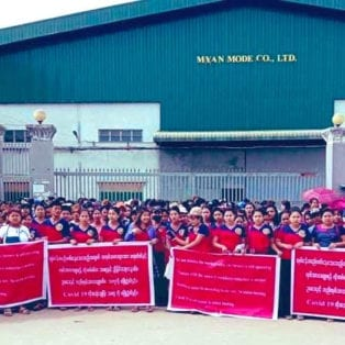 Myanmar Factory Uses COVID-19 to Union Bust