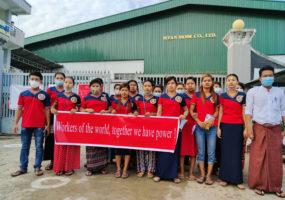 Myanmar, Myan Mode, garment workers, unions, worker rights, Solidarity Center