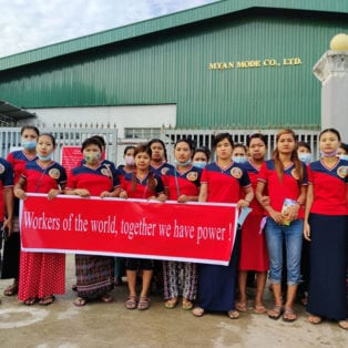 Myanmar Garment Workers Stand Strong, Win New Pact