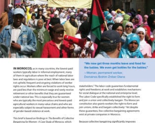 The Benefits of Collective Bargaining for Women Workers in Morocco