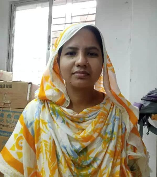 Bangladesh, garment worker, laid off due to COVID-19, worker rights, Solidarity Center
