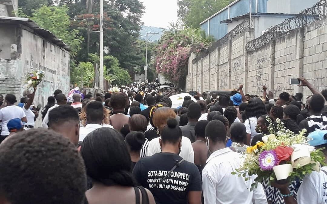 Haiti, garment worker death, worker rights, Solidarity Center