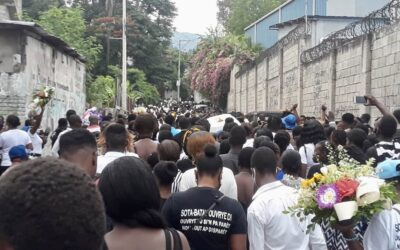 Haitian Workers March, Protest Garment Worker's Death