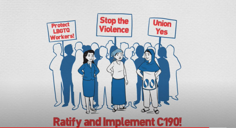 New Tool for the Campaign to End Gender-Based Violence at Work