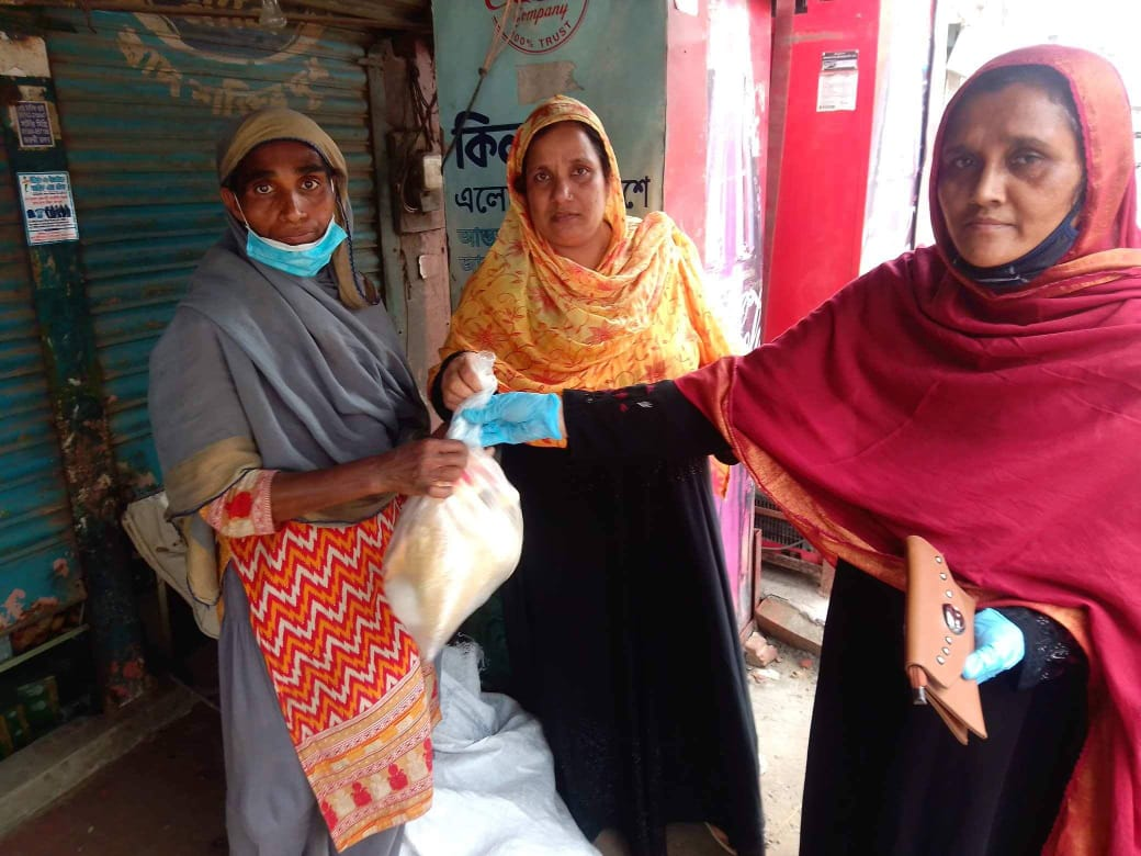 Solidarity Center Workers' Empowerment Project in Bangladesh Pivots in COVID-19 Crisis