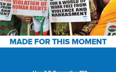 Made for this Moment: How ILO Convention 190 Addresses Gender-Based Violence and Harassment in the World of Work During the COVID-19 Pandemic and Beyond
