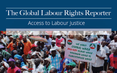 New Legal Journal Shares Strategies for Labor Justice