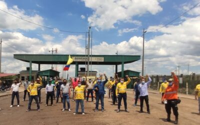 oil workers, Colombia, Solidarity Center, worker rights, climate change