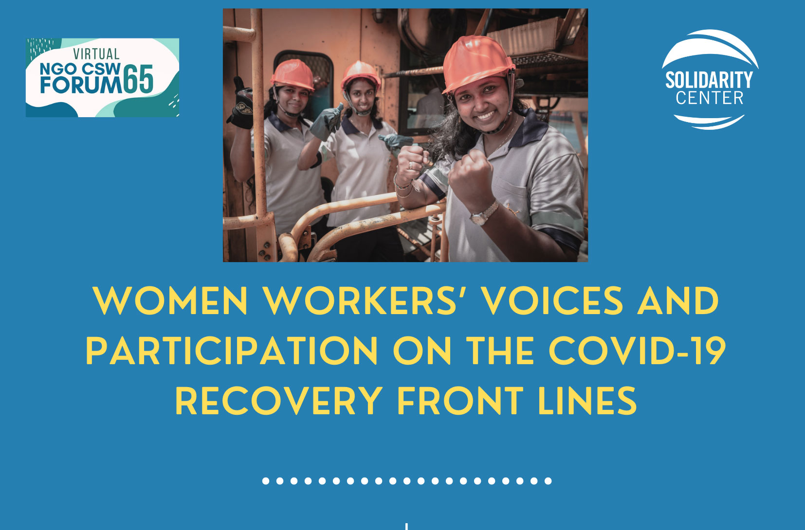 Union Women on the COVID-19 Front Lines: The Road to Recovery
