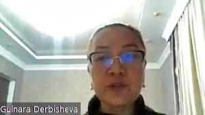 Kyrgystan, Gulnara Derbisheva, Insan Leilek, CSW, worker rights, gender-based violence at work, Solidarity Center