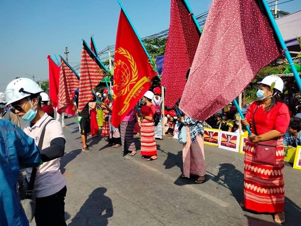 Myanmar: Unions Organize General Strike as Military Violently Cracks Down