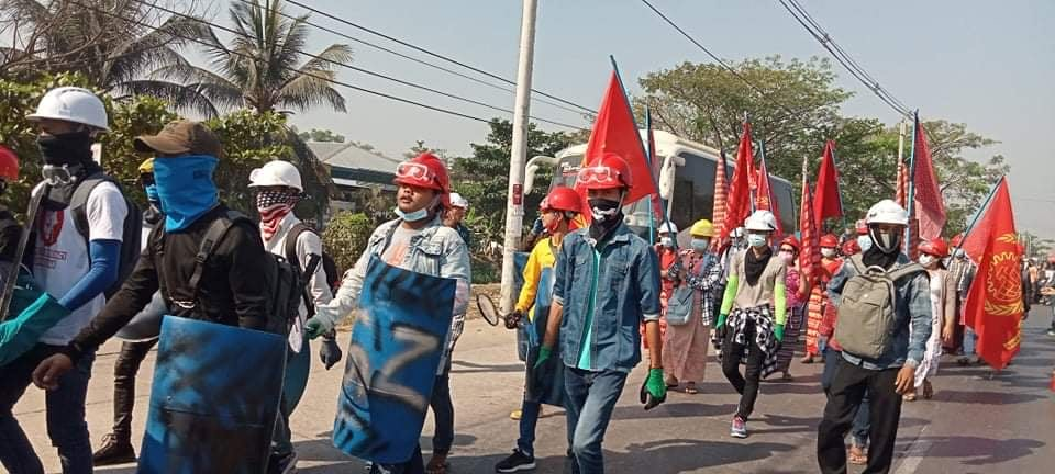 Myanmar, military coup, worker rights, garment workers, Solidarity Center