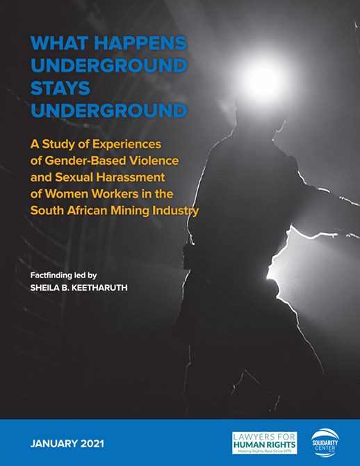 Report: Risks to Women Workers Pervasive in South African Mines