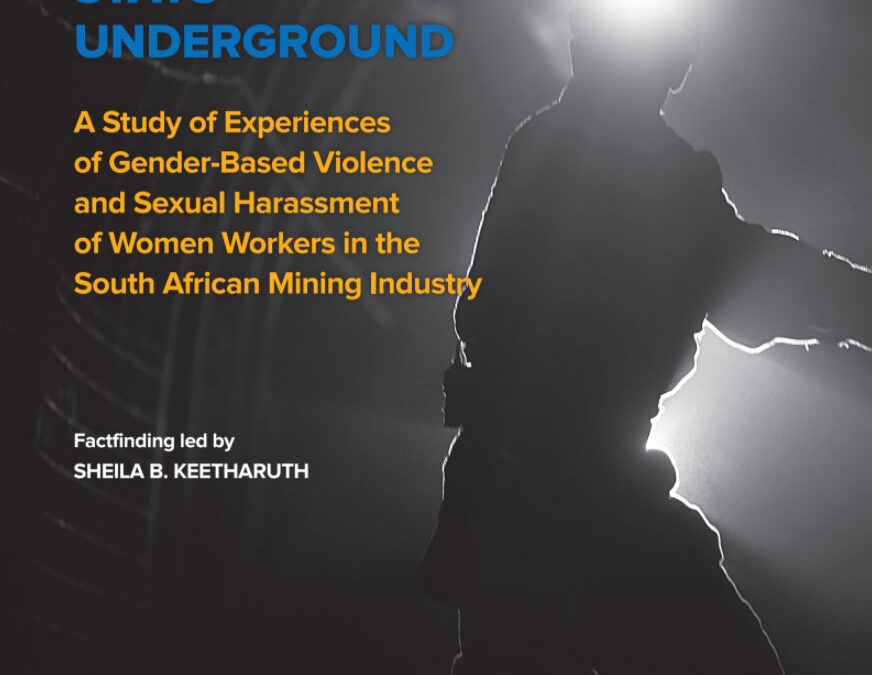 South Africa, gender-based violence, mining industry, worker rights, unions, Solidarity Center